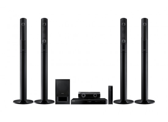 Samsung HT-J5550WK Full HD 3D-BluRay Home Theater - 1000W