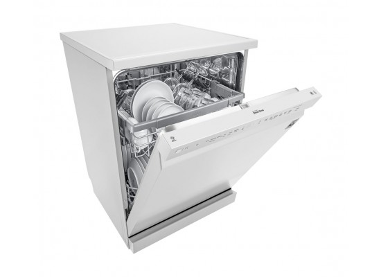 LG QuadWash 14 Settings Dishwasher (DFB512FP) - White