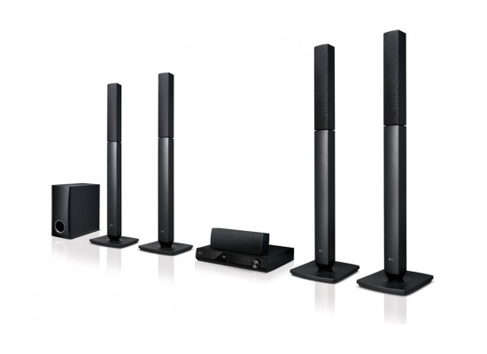 LG LHD457 5.1 Ch Home Theater System With DVD Player (Black)