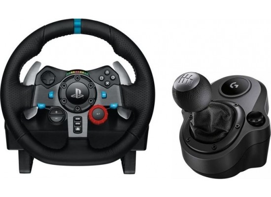 7a4f75ab315 Logitech G29 Driving Force Racing Wheel + Logitech G Driving Force Shifter