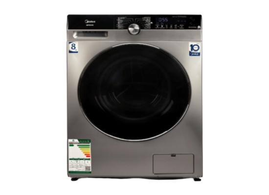Midea 8kg 1,500 rpm front load washer - silver (mfk80s) price in