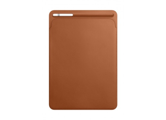 Apple iPad Pro 10.5 Inches Leather Sleeve (MPU12ZM/A) - Saddle Brown