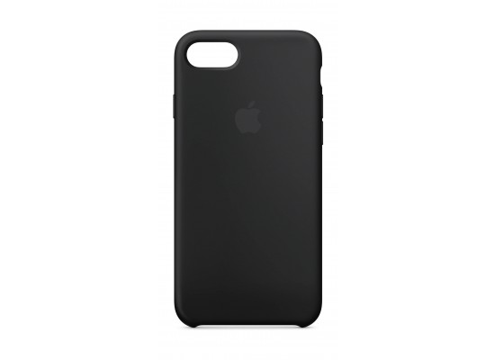 Apple Silicone Case For iPhone 7/8 (MQGK2ZM/A) - Black