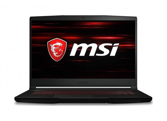 MSI GF63 8RD Thin Bezel GTX 1050TI 4GB Core i7 16GB RAM 1TB HDD + 256 SSD 15.6-inch Gaming Laptop - Black