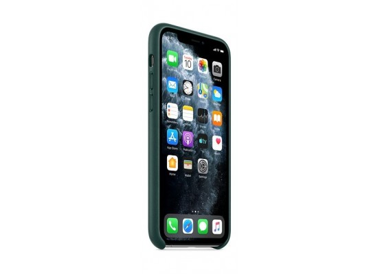 Apple iPhone 11 Pro Leather Case - Forest Green 3