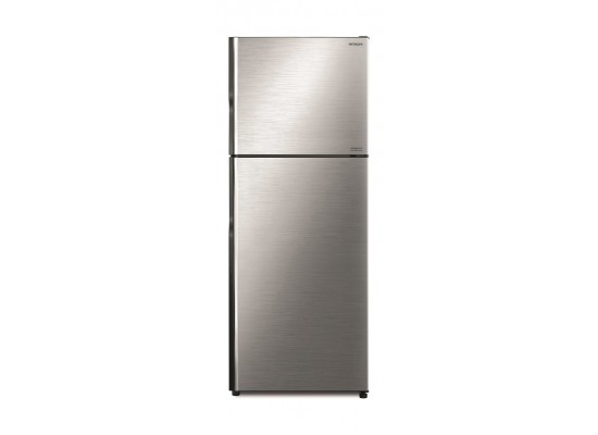Hitachi 11. 8cft top mount refrigerator (r-v400ps8k) -silver price