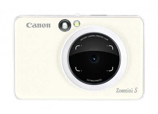 Canon Zoemini S Instant Camera & Printer - White 5