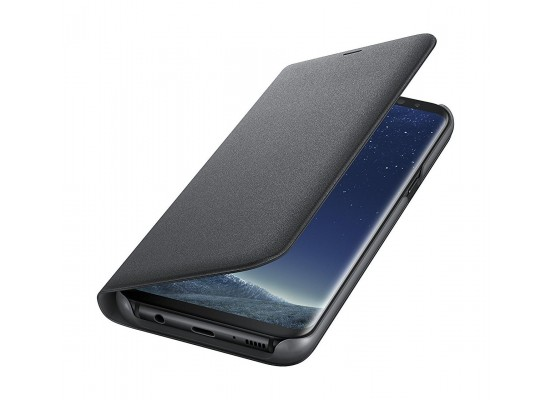 Samsung LED View Case For Galaxy S8 – Black