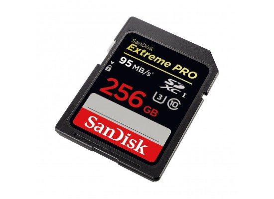 SanDisk Extreme PRO 256GB  95MB/s  SDXC Memory Card