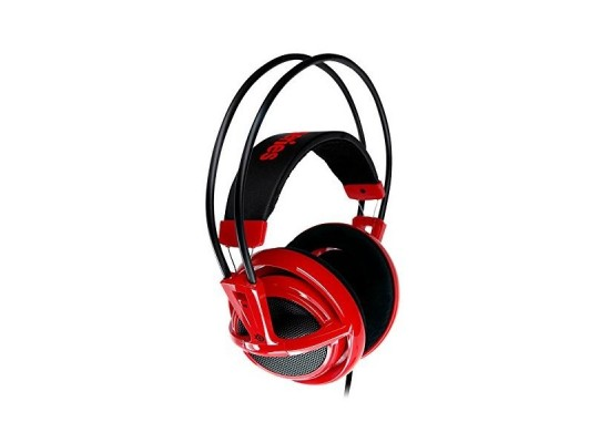 MSI SteelSeries Siberia V2 Wired Gaming Headset - Red