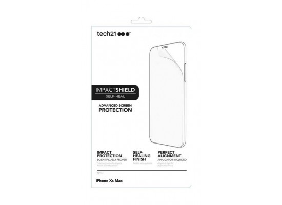 purchase cheap 108a4 044fc Tech21 Impact Shield Screen Protector For iPhone XS Max (6782) - Clear