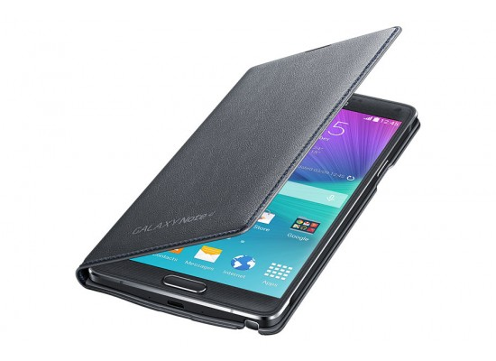timeless design 1be65 9d3ff LED Flip Wallet for Galaxy Note 4 from Samsung - Black