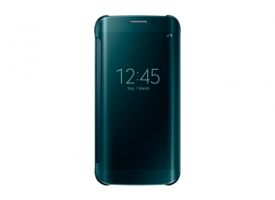 cheap for discount b7739 fa0df Clear View Cover for Galaxy S6 edge from Samsung - Green
