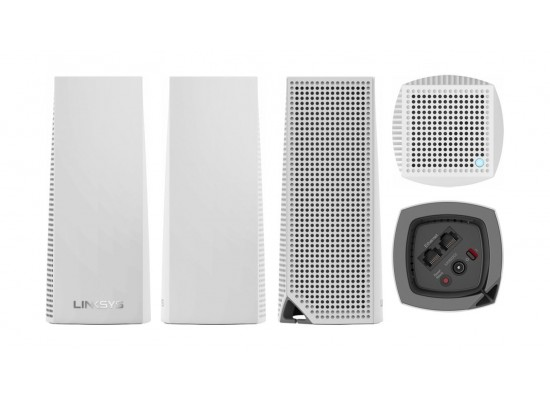 Linksys Velop AC4400 Tri-Band Whole Home Mesh Wi-Fi System (WHW0302-ME) - 2 Pack