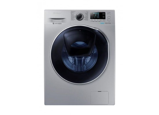 Samsung 8.6 kg W / 6 kg D Front Loading Washer and Dryer (WD85K6410OS)