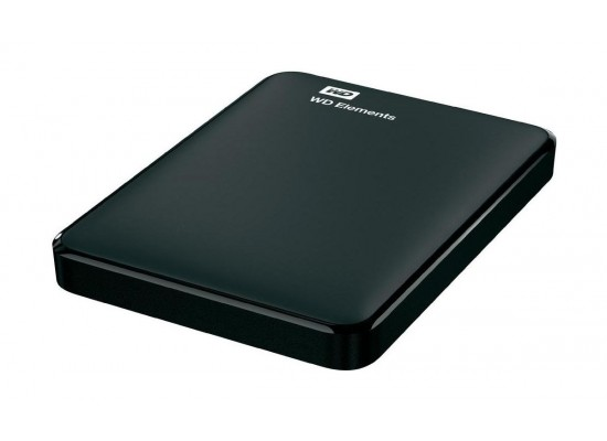 WD Elements1TB  USB 3.0 Portable Hard Drive - Black