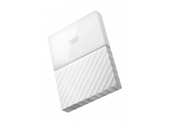 WD 1TB My Passport USB 3.0 External Hard Drive - ًWhite