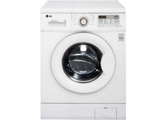 LG 6KG Front Load Washer – White (WF0610HWH)