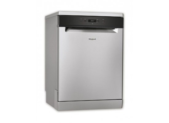Whirlpool 14 Place Settings 8 Programs Freestanding Dishwasher (WFC3C26X) - Silver