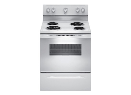 Whirlpool 60*60 CM Electric Freestanding Cooker (4KWFC120MAW) - White