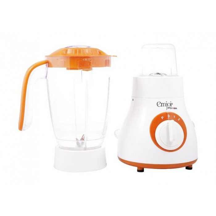 Emjoi Power 400W 1.5L Blender - White/Orange UEB-256 | Xcite