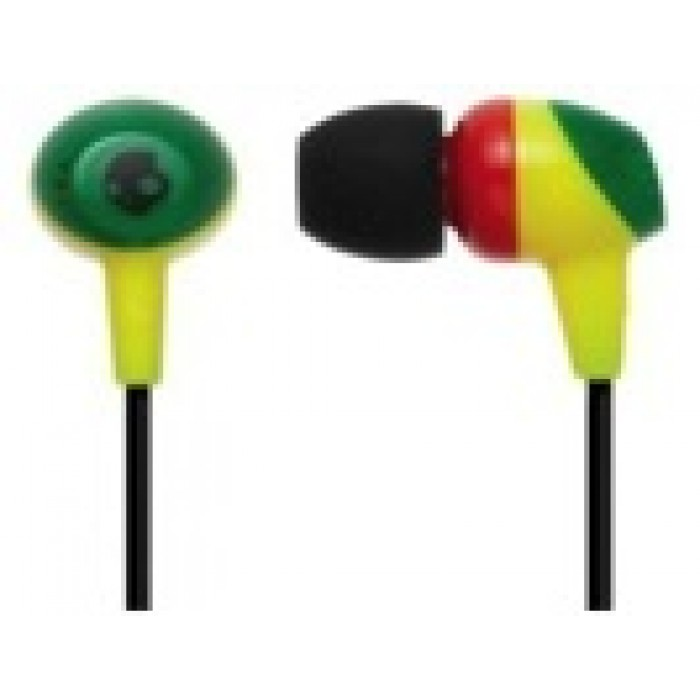 hot-selling real search for clearance new design SkullCandy Earphones without Mic (S2DUDZ-058) - In Ear Rasta ...