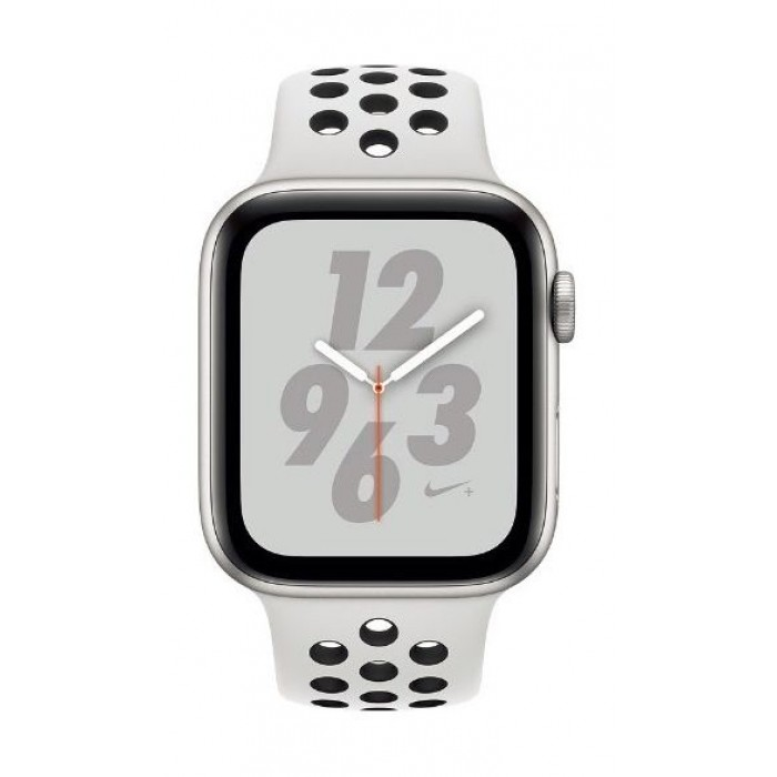 Apple Watch Nike+ Series 4 GPS 40mm Silver Aluminum Case with Pure  Platinum/Black Nike Sport Band -MU6H2AE/A