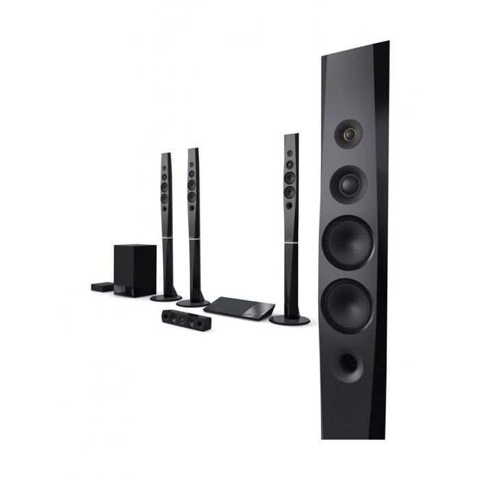 Sony 1200w 51 Ch 3d Blue Ray Home Theatre System Black Bdv N9200w