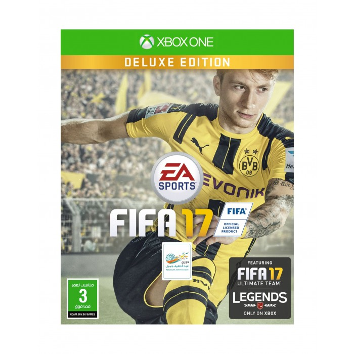 FIFA 17 - Deluxe Edition - Xbox One Game (Arabic ...