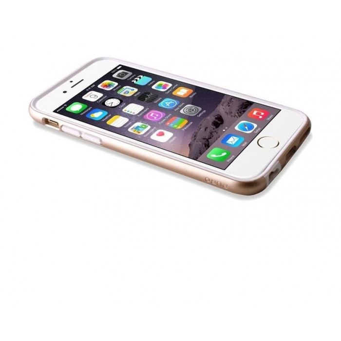 Puro Satin Cover iPhone 6/6s Gold