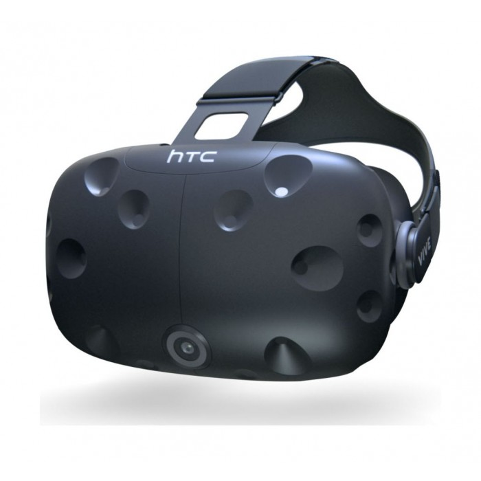 HTC Vive Virtual Reality Headset With Handheld Controllers