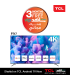 TCL 50-Inch 4K UHD Android LED TV ( 50P717)
