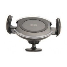 EQ LWC-S02 Qi Enabled Car Mount & Wireless Charger - Black