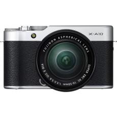 كاميرا فوجي فيلم X-A10  بدون مرآة بجودة ١٦,٣ ميجابيكسل مع عدسة بفتحة ٥٠ ملم