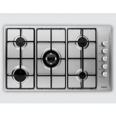 طباخ مسطح جليم جاز ٥ شعلة – فضي - (P9LV5I)