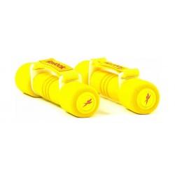ثقل اليد بقبضة لينة من ريبوك ١ كيلوغرام - أصفر