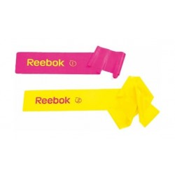 ربطتين من ريبوك - وردي/أصفر