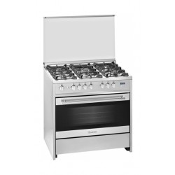Meireles G 9558 90x60 5 Burner Gas Oven - Stainless Steel
