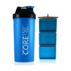 زجاجة إعداد مسحوق البروتين كور١٥٠ - أزرق