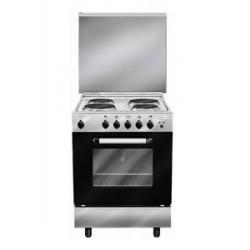 طباخ كهربائي يشتمل على ٤ لوحات كهربائية - فضي - AL669EI