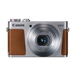 كاميرا كانون باورشوت جي ٩ إكس مارك ٢ الرقمية المدمجة - ٢٠ ميجابكسل مع تقنية الواي- فاي - فضي