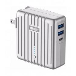 Zendure MIX 2-IN-1 5200mAh Powerbank & Wall Charger - Silver