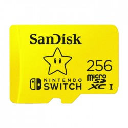 Sandisk 256GB Nintendo Switch Memory Card in Kuwait | Buy Online – Xcite