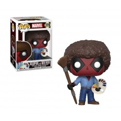 Funko Pop Marvel Deadpool Playtime - Bob Ross
