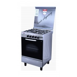 Basic 55 x 55 cm 4-Burner Floor Standing Gas Cooker (4404S)