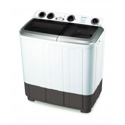 Daewoo 8.6KG Twin Tub Washing Machine (DW-T180BSD) – White