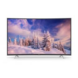 تلفزيون تي سي إل الذكي ٤٨ بوصة كامل الوضوح (١٠٨٠ بكسل) بشاشة منحنية إل إي دي - 48P1-CFS