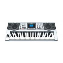 لوحة مفاتيح موسيقية من ونسا ٦١ مفتاح – فضي - (MK-810)