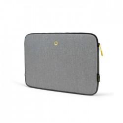 "Dicota Skin Flow for 13-14.1"" Laptop - Grey & Yellow"