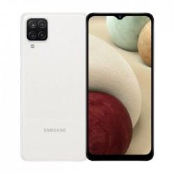 هاتف سامسونج جالكسي ايه 12 64 جيجابايت - أبيض